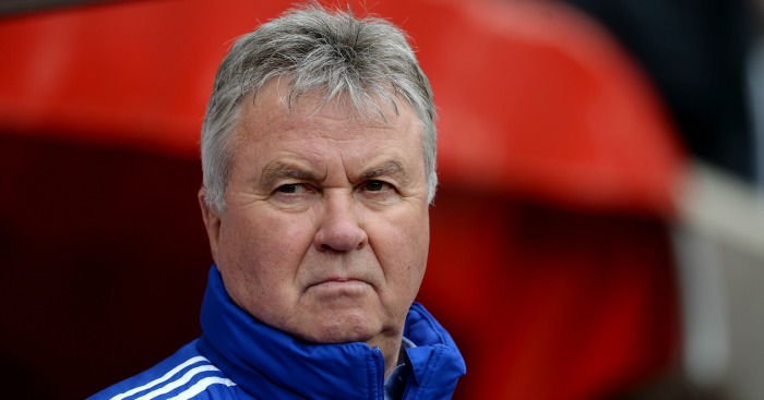 Guus Hiddink: Manager left Chelsea at the end of the season