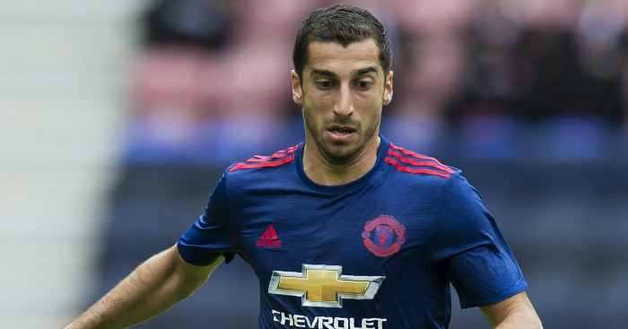 Henrikh Mkhitaryan: Joined Man Utd