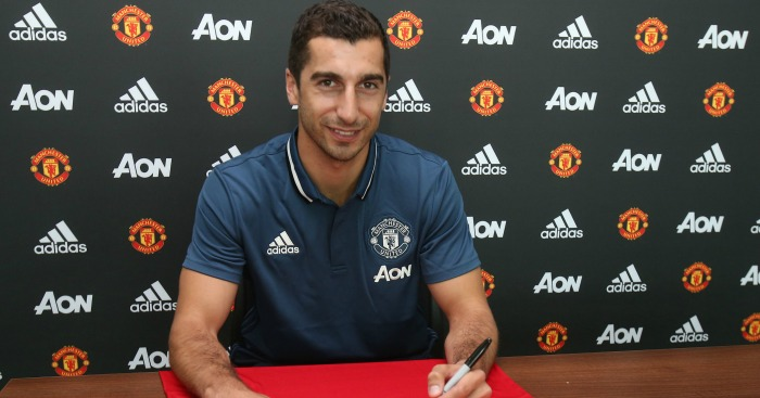 Henrikh Mkhitaryan: Joined Man Utd on Wednesday