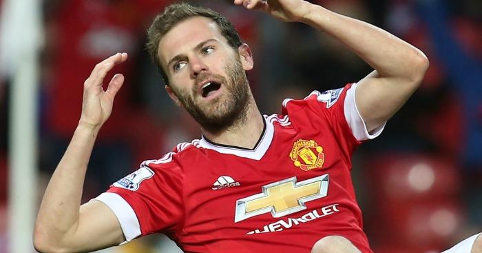 Juan Mata: Set to be shunted out of Man Utd