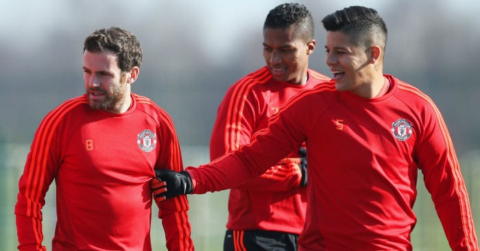 Juan Mata & Marcos Rojo: Included in touring party