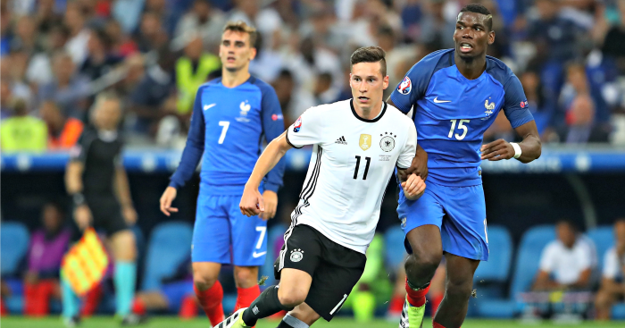 Julian Draxler: Midfielder's agent in talks with Arsenal