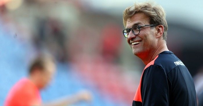 Jurgen Klopp: Happy with his goalkeeper