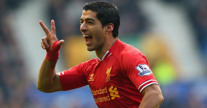 Luis Suarez: Still a firm favourite at Liverpool