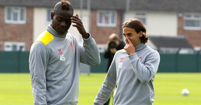 Mario Balotelli: Was put through his paces on Saturday
