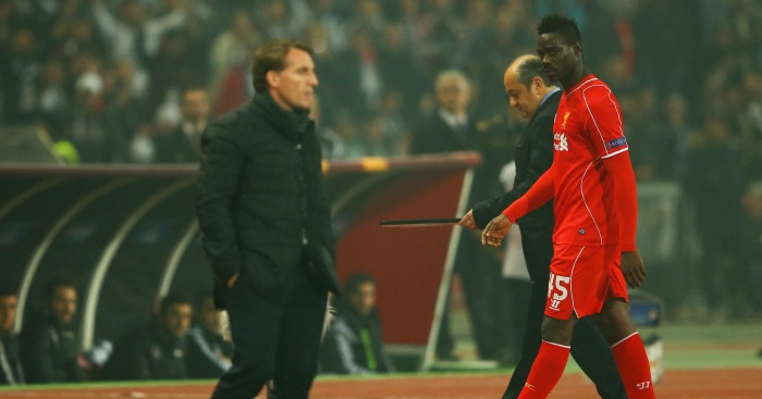 Mario Balotelli: Striker unimpressed by Brendan Rodgers