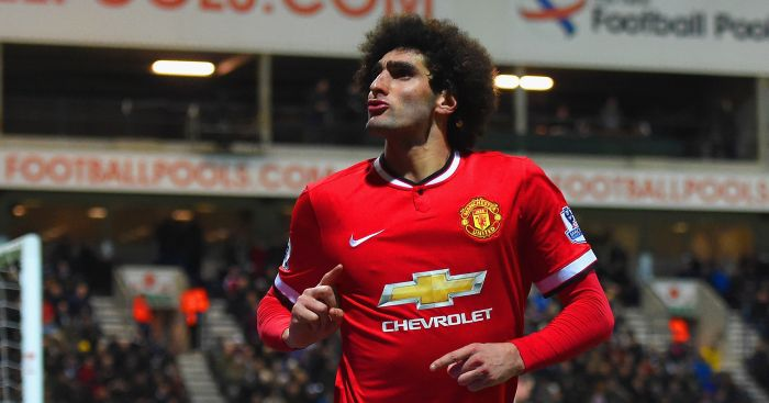 Marouane Fellaini: Moyes a big fan