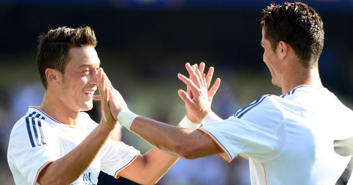 Mesut Ozil: Midfielder played alongside Ronaldo at Real Madrid