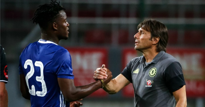 Michy Batshuayi: Enjoys good relationship with manager