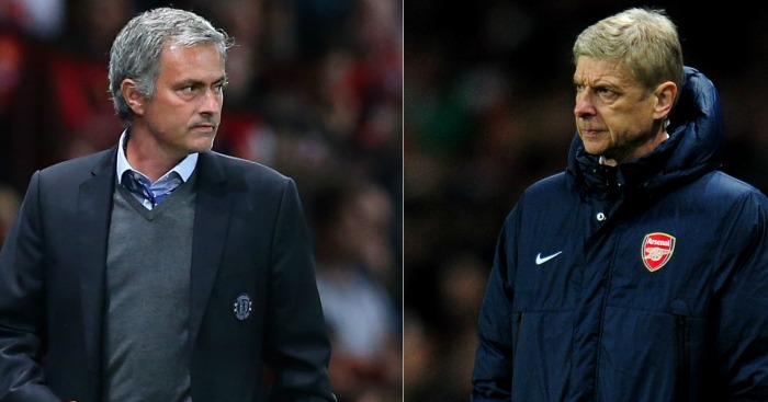 Jose Mourinho & Arsene Wenger: Old enemies