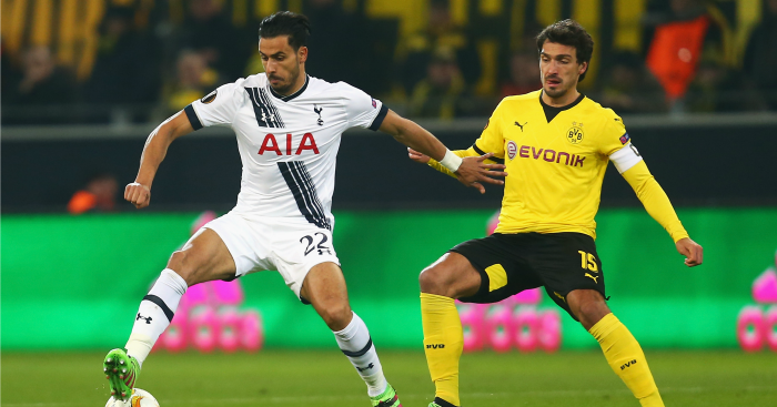 Nacer Chadli: Linked with Dortmund and Swansea