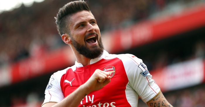 Olivier Giroud: Has played just 12 minutes for Arsenal this season