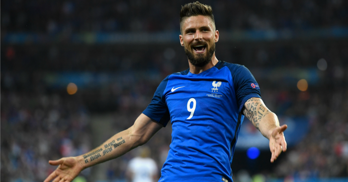 Olivier Giroud: In good form for France
