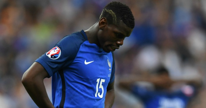 Paul Pogba: Failed to exert influence in Paris