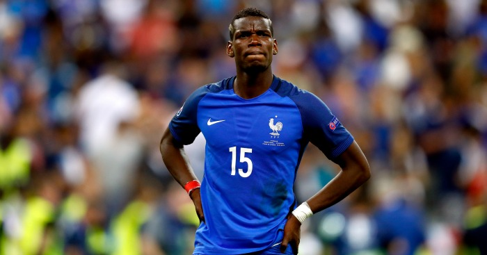 Paul Pogba: Prefers squad No 15