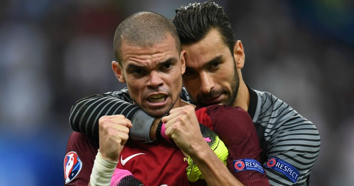 Pepe & Rui Patricio: Solid at the back for Portugal