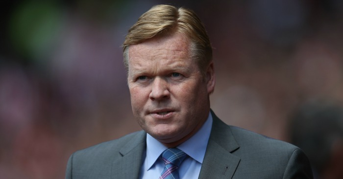 Ronald Koeman: Expects Everton response