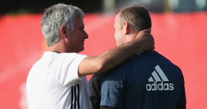 Jose Mourinho: Lauded by Rooney