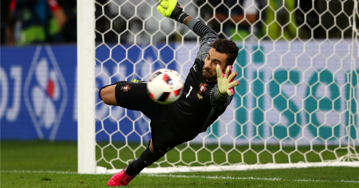 Rui Patricio: Goalkeeper could move to Goodison Park