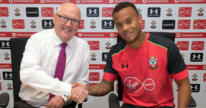 Ryan Bertrand: Committed to Saints