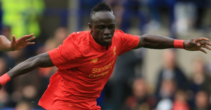 Sadio Mane: In action against Tranmere