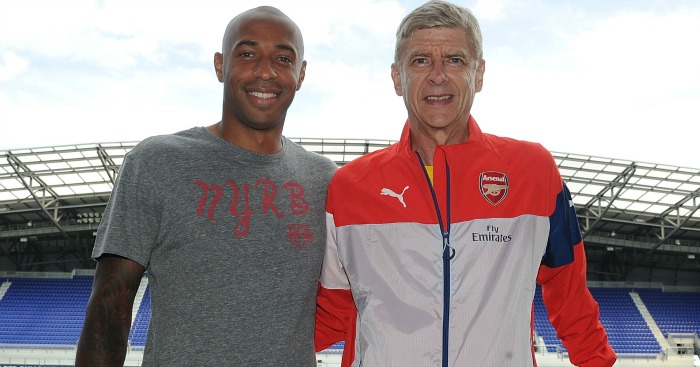 Thierry Henry: Set for a parting of ways with Arsene Wenger