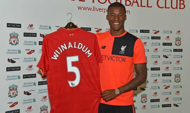 Georginio Wijnaldum: ONLY USE THIS WITHIN A STORY - NOT AS MAIN IMAGE