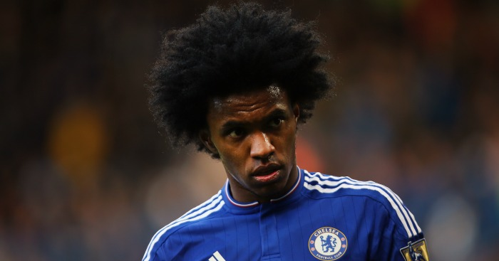 Willian: Winger was linked with a move to Man Utd