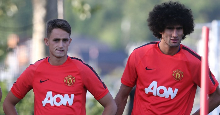 Adnan Januzaj: Praise for Marouane Fellaini