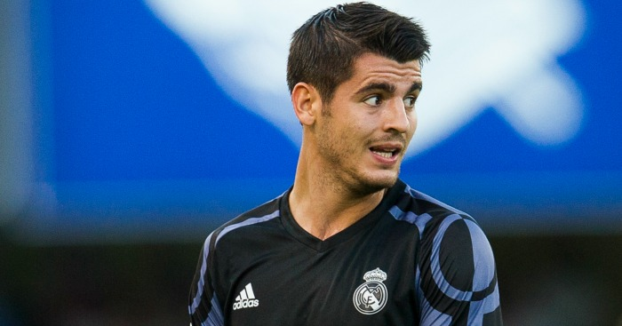 Alvaro Morata: Returned to Real Madrid over the summer