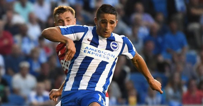 Anthony Knockaert: Opened Brighton scoring