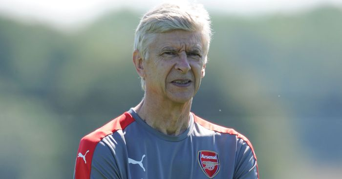 Arsene Wenger: Denies Perez is a panic buy