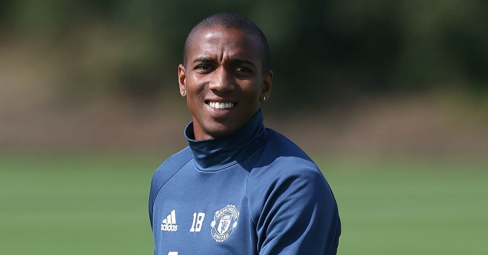 Ashley Young: Wanted by Alan Pardew