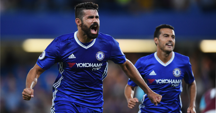 Diego Costa: Fired Chelsea to victory