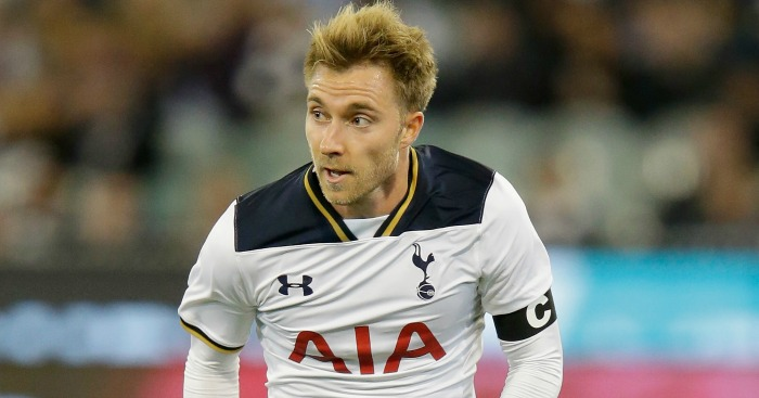 Christian Eriksen: Midfielder remains in talks with club