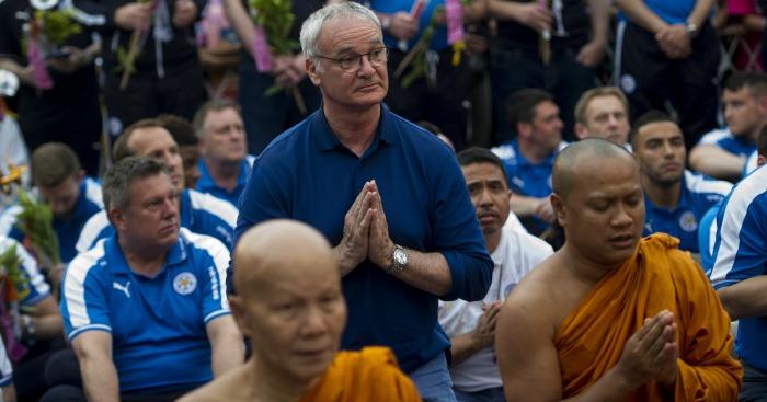 Claudio Ranieri Leicester 1