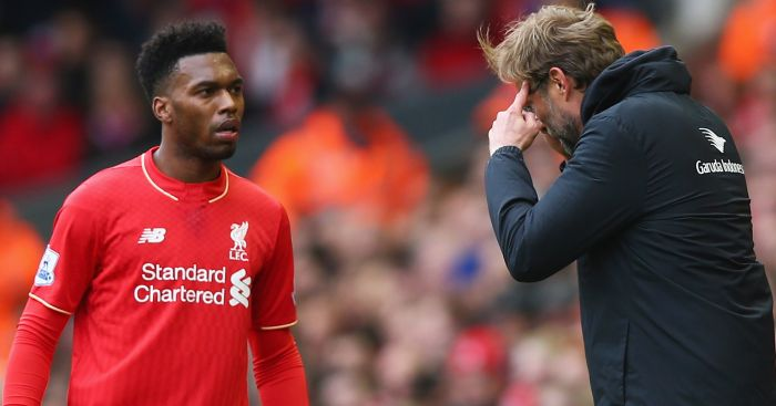 Daniel Sturridge: Unhappy with his position