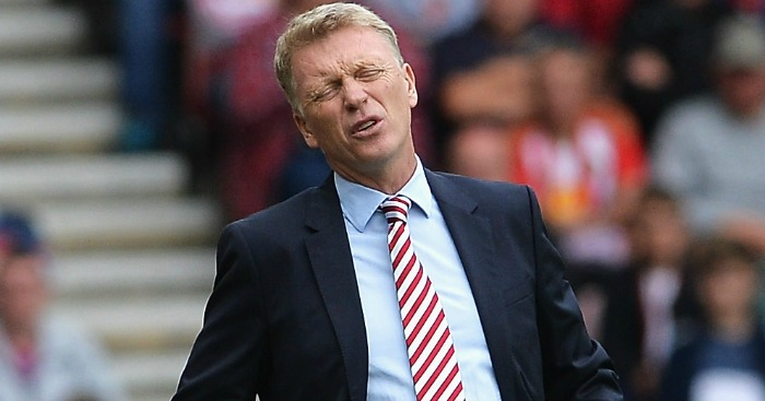 David Moyes: Not optimistic after a month in charge