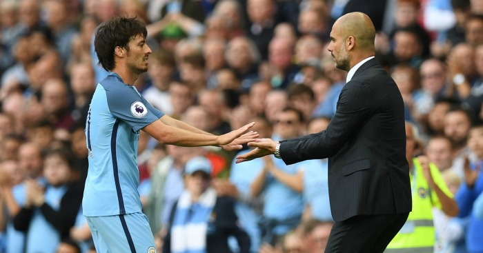 David Silva: Happy with progress under Guardiola