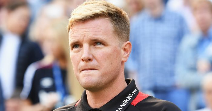 Eddie Howe: Happy to record first win