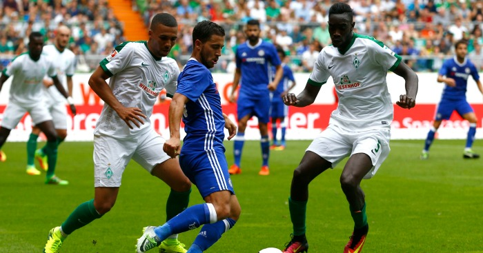 Eden Hazard: Attacker in action during pre-season