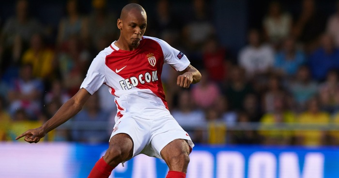 Fabinho: Defender in action against Monaco