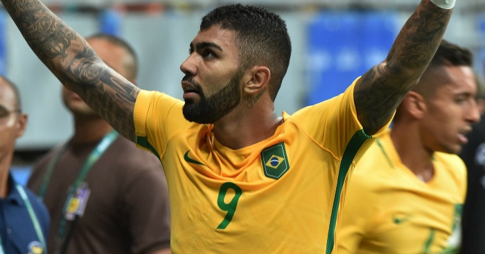 Gabriel Barbosa: Linked with £30m Man Utd switch