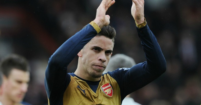Gabriel Paulista: Faces spell on sidelines