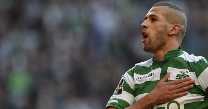 Islam Slimani: New Leicester record signing