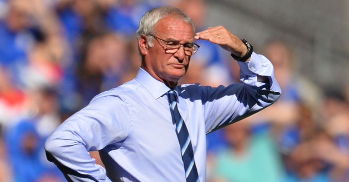 Claudio Ranieri: Committed his future to Leicester