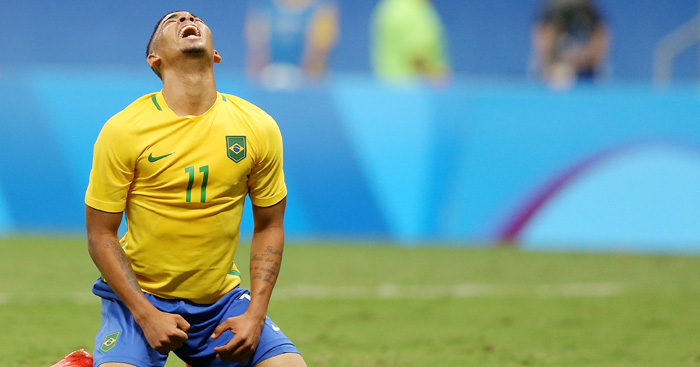 Gabriel Jesus: Struggling to ignite Brazil Olympic bid
