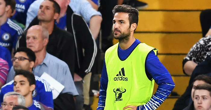 Cesc Fabregas: Urged to bide his time at Chelsea