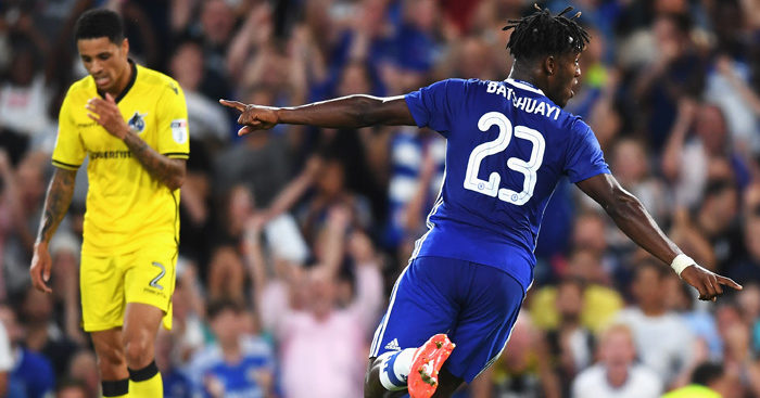 Michy Batshuayi: Scored twice at Stamford Bridge