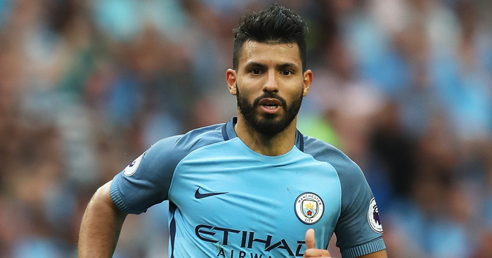 Sergio Aguero: In danger of missing Man Utd clash